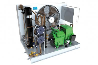 Unidade Condensadora Semi-Hermética - Baixa - Heatcraft