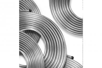 Cano de Alumínio - Flexível