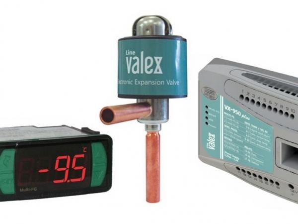 Válvula de expansão da linha Valex foi um dos destaques no estande da Full Gauge na Fispal 2019 | Foto: Divulgação