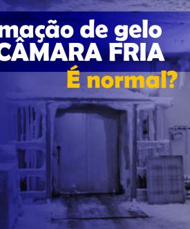 Formação ne gelo na Câmara Fria: É normal?